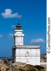 The Lighthouse at Capo Testa Sardinia