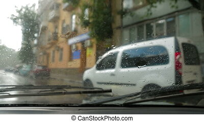 Heavy Rain. Traffic In the City