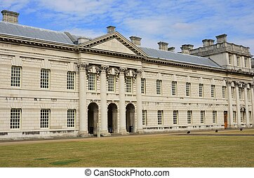 Side view of Greenwich College