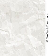 Rumpled paper seamless texture Eps10 vector illustration