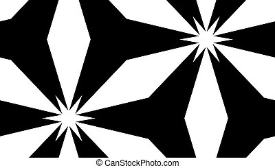Repeating White Star Pattern