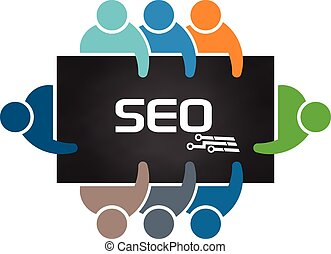 People doing Search Engine Optimization Analysis