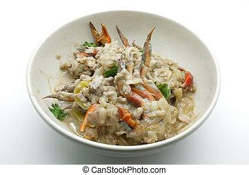 Crab stew, Crap curd,Thai food - Crab stew Crap curd dip...