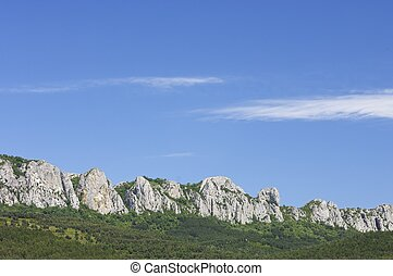 Santo Domingo - Forested Santo Domingo Mountains, Zaragoza...