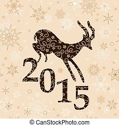beige christmas background - goat - beige christmas...