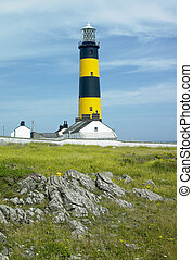 lighthouse, St. John\'s Point, County Down, Northern Ireland