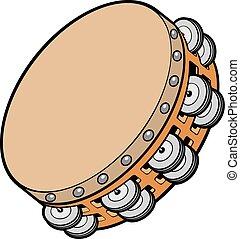 tambourine music instrument