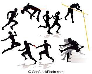 Leichtathleteneps - athletics