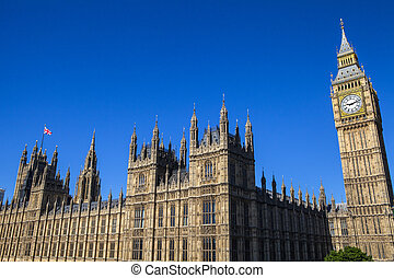 Palace of Westminster in London