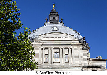 Methodist Central Hall in London - The Methodist Central...