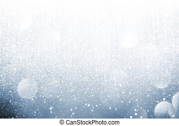 Abstract silver lights on background