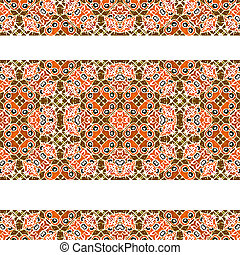 Stripped Decorative Seamless Pattern - Luxury decorative...