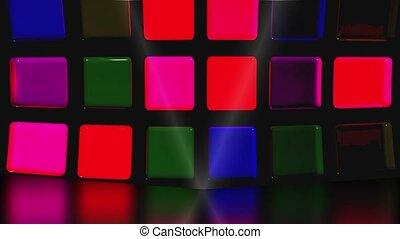 Disco stage loop