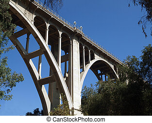 Historic Pasadena Bridge - Historic Colorado Boulevard...