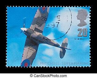 spitfire - BRITISH: aviation engineering commemorative mail...