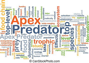 Apex predator background concept - Background concept...