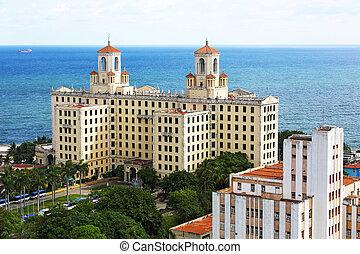 Hotel Vedado Havana Cuba - the Hotel Nacional de Cuba,...