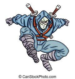Cartoon Ninja Character