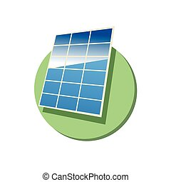 Solar panel - This is an illustration of solar panel
