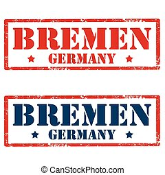 Bremen-stamps