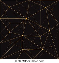 Seamless triangle abstract  background design