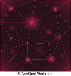 Seamless triangle abstract Light purple background