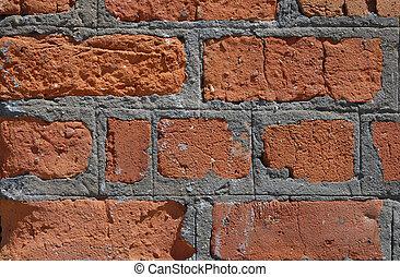red brick  - red brick