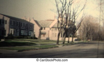 NEW HAVEN, CONNECTICUT - 1958: - Original vintage 8mm home...
