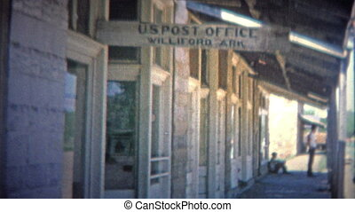 WILFORD, ARKANSAS USA - 1966: - Original vintage 8mm home...