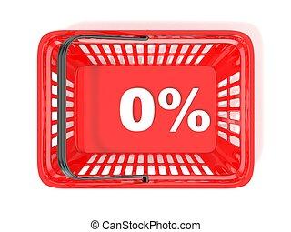 0 percent discount tag