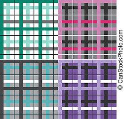 check seamless pattern