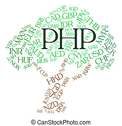 Php Currency Shows Worldwide Trading And Currencies - Php...