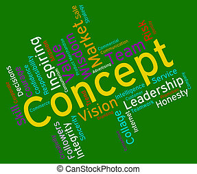 Concept Word Means Abstraction Thinking And Invention -...