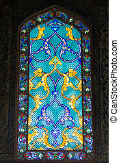 Topkapi Palace - Window of a Room in Topkapi Palace,...