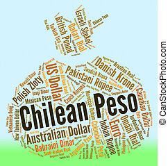 Chilean Peso Means Foreign Exchange And Coin - Chilean Peso...