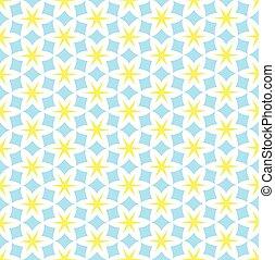 Starry seamless pattern vector