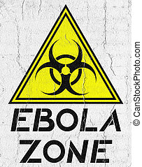 Zone ebola - Creative design of Zone ebola