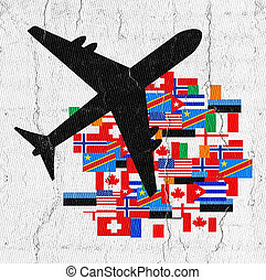 Plane country - Creative design of Plane country