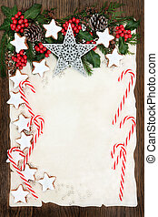 Christmas Background - Christmas abstract background border...