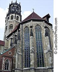 Münster, Überwasserkirche - Münster, Germany,...