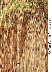 Straw texture - The closeup of straw texture