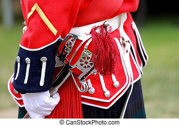English Uniforms - English uniforms at the with their bright...