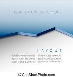 Vector layout - Vector design. Clean layout - background...