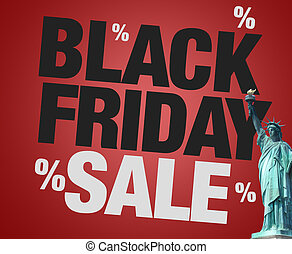 Black Friday Sale statue of liberty usa
