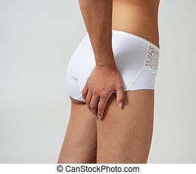 Female sexy ass