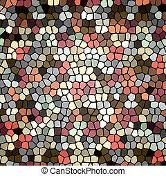 Retro mosaic background