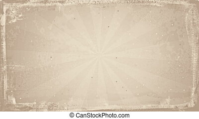 grunge sepia rays loopable background