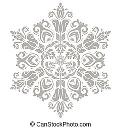 Damask Vector Orient Pattern - Damask vector floral pattern...