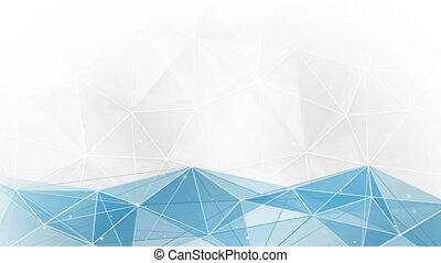 abstract geometrical tangle background loop
