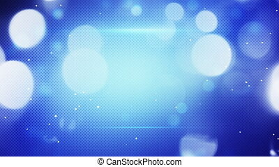 blue shimmering light loopable techno background - blue...